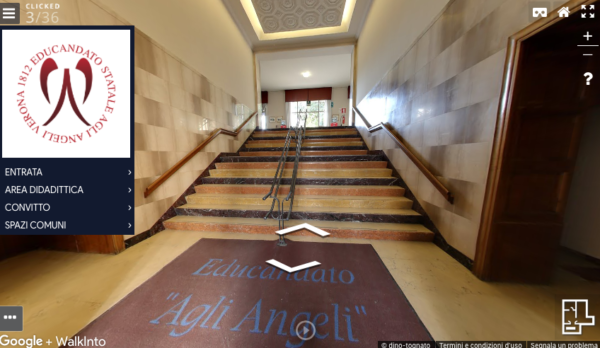 Tour virtuale scuola Educandato agli Angeli