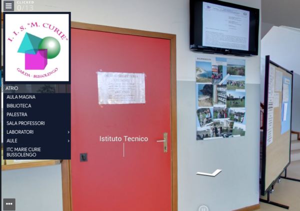 Tour Virtuali Scuole superiori Maria Curie