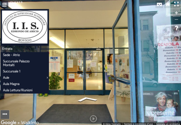 Virtual tour scuola I.I.S.S. Edmondo de Amicis