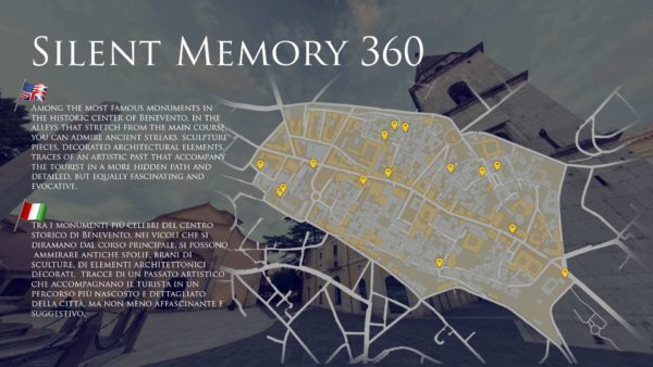 Silent Memory Benevento museo tour virtuale Michele Sabella you360.it