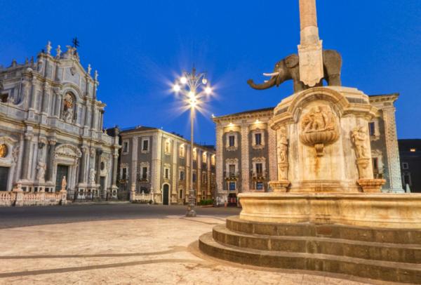 Catania al tempo del Lock-down di Luca Mangano