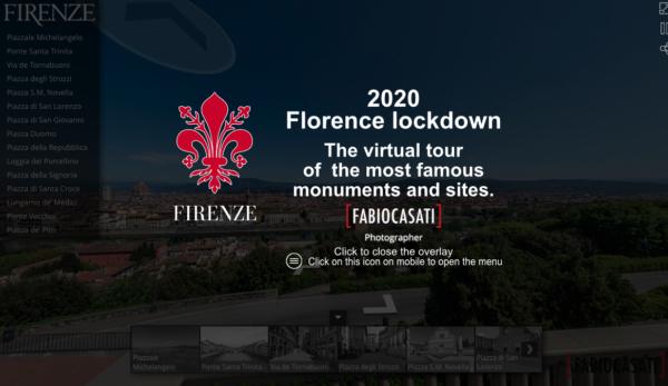 Firenze ai tempi del Lock down di Fabio Casati